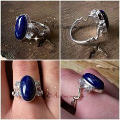 The Vampire Diaries INSPIRED Jewelry - Elena Gilbert Inspired Ring - 925 Sterling Silver - real Lapis Lazuli - zirconia cubica - vampire Vampire Diaries Jewelry, The Vampire Diaries, Tree Of Life Necklace, Locket Necklace, Bath And Beyond Coupon, Elena Gilbert, Tree Pendant, Nina Dobrev, Lapis Lazuli
