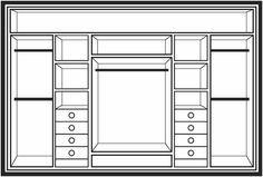 Waratah Wardrobe Company Designs Page Bedroom Closet Design, Bedroom Wardrobe, Wardrobe Closet, Wardrobe Design, Built In Wardrobe, Closet Designs, Master Closet, Closet Space, Small Wardrobe