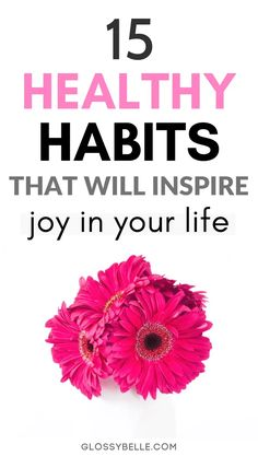 Looking to recharge, improve your happiness, reduce your anxiety and stress levels, & be as productive as possible? These 15 self-care habits will help inspire joy and happiness & change your life for the better! Healthy Living Recipes, Healthy Living Quotes, Living A Healthy Life, Health Recipes, Wellness Quotes, Wellness Tips, Health And Wellness, Mental Health, Women's Health