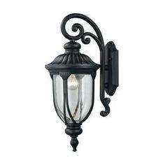 "37/"" Lighthouse Hanging LED Solar Light Antique Bronze Lantern Garden Path Accent"