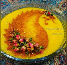 تزیین غذا برای مهمان                                                                                                                                                                                 More Iranian Dishes, Iranian Cuisine, Persian Desserts, Persian Recipes, Iran Food, Party Dishes, Middle Eastern Recipes, Arabic Food, International Recipes