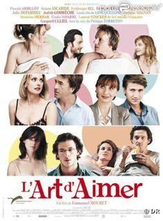 L'art d'aimer. I watched this lovely movie on the flight from Paris.