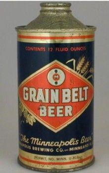 Grain Belt Beer cans  | Grain Belt Beer Can
