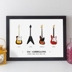 Personalised Family Music Print By Elevencorners | notonthehighstreet.com