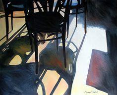 """Saatchi Art Artist Alan Taylor; Painting, """"Café Sol"""" #art"""
