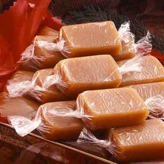 Caramel recipe for buttery soft caramels that have been enjoyed for generations.