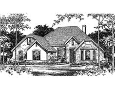 this french country house plan with 3 bedroomss 2 bathrooms 1 story and 2120 total square feet from eplans exclusive assortment of house plans