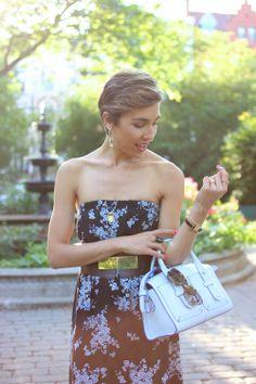 easy summer evenings call for easy summer dresses
