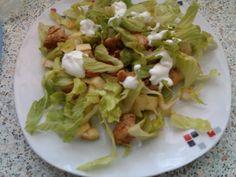 Salát s polníčkem a chia semínky Tzatziki, Tacos, Mexican, Chicken, Ethnic Recipes, Fitness, Author, Salads, Mexicans