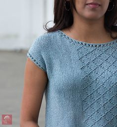 """Of pattern by Nidhi Kansal Free for a limited time. Just click """"buy"""" and it will turn free in your cart.Free for a limited time. Just click """"buy"""" and it will turn free in your cart. Knit Vest Pattern, Sweater Knitting Patterns, Lace Knitting, Knit Patterns, Summer Knitting, Shirts & Tops, Pulls, Knit Crochet, Clothes"""