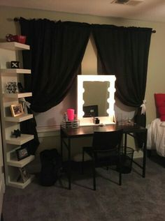 """Standard 30""""H 24""""W Hi Gloss White, dimmer/outlet self standing $230 shipping available Layaway payments available. Fb-Vanity J IG @Vanity J"""
