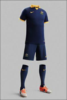Australia 2014 World Cup Away Shirt