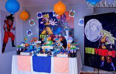 fiesta tematica dragon ball - Buscar con Google