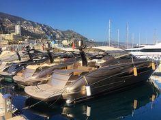 RIVAs in Monaco's Port Hercule #RivaRivale by carolfeith