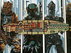 Star wars VINTAGE KENNER Millennium Falcon Custom Jedi Training Boule de Remplacement