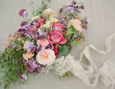 """""""How the bridalbouquet is styled can make or break the entire bridal ensemble. Tight, round, ball-like wedding bouquets, the traditional bridal bouquet shape, are being overshadowed by new, airier bouquet arrangements. Full of sumptuous, colorful blossoms, these ethereal bouquets feature plenty of foliage, from trailing ivies to cascading Texas smilax. Loose and romantic, this trending […]"""