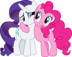 Rarity and Pinkie Pie!