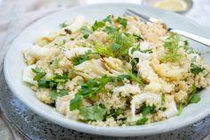 Auch dieser Fenchelsalat mit Forelle und Quinoa ist ein super Rezept für Zwischendurch oder ein leichtes Abendessen. Ich mag es auch weil es eine leckere Vitaminspritze im Winter ist. Das Aroma lie…