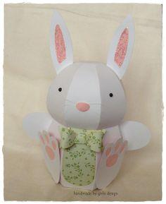 Geschenkbox  'Osterhase' von gislis-design auf DaWanda.com