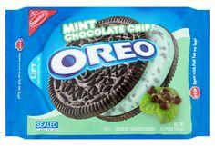 Mint Chocolate Chip Ice Cream Oreos