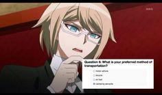 can u hire me as ur servant togami Byakuya Togami, Pink Blood, Danganronpa Trigger Happy Havoc, Nagisa Shiota, Danganronpa Memes, Another Anime, Stupid Memes, Me Me Me Anime, Hetalia