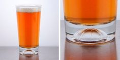 A Toast to Tourney Time - The Libbey Basketball-bottom beer glass