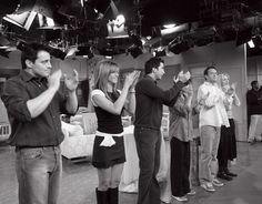 """Friends"" - cast takes a curtain call on the last episode titled 'The Last One, Part 2' - 6th May 2004"