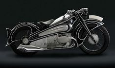 Just A Car Guy: 1937 BMW R 7, when design was a bit of engineering, and a lot of artistic beauty