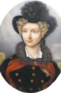 1824 Empress Elizabeth Alexeievna by Henri Benner | Grand Ladies | gogm