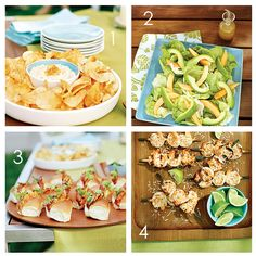 Food Ideas for a Luau Party!
