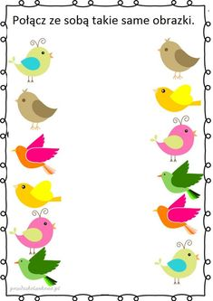 Cartoon Sun, Diy And Crafts, Kindergarten, Children, Little Birds, Therapy, Birds, Spring, Studying