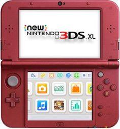Consola Nintendo 3DS XL Rojo, Pidelo Ya: http://amzn.to/2hgJeNg