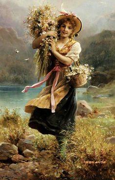 Hans Zatzka(1859-1945) / 가을이 오는 소리 - 작품감상 : 네이버 블로그