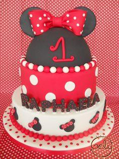 Minnie Mouse en Rojo