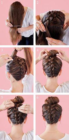 Easy Hairstyles For Long Hair, Box Braids Hairstyles, Cute Hairstyles, Straight Hairstyles, Summer Hairstyles, Goddess Hairstyles, Indian Hairstyles, Easy Hair Braids, Easy Braided Hairstyles