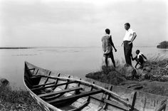 """<strong>Not published in LIFE.</strong> Billy Graham in Africa, 1960. When he first began to preach, as a student at the Florida Bible Institute, he would paddle a canoe across the Hillsborough River to a little island where, as he wrote in his autobiography, """"I could address all creatures great and small, from alligators to birds. If they would not stop to listen, there was always a congregation of cypress stumps that could neither slither nor fly away."""" Today, the area is the site of Rev…"""