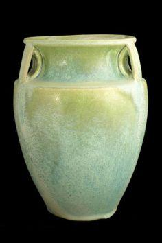 Fulper Pottery Bullet Vase. Form Number 530.