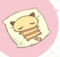 Nemukko Nyago. He was always my favorite hello kitty character. too bad they dont make him anymore :c