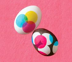 40 ways to dye Easter Eggs