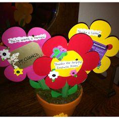 Teacher Appreciation Gift Card Bouquet