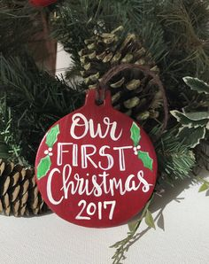 first christmas together newlywed ornament ornament christmas