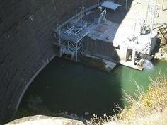 Monte cello dam at Lake Berryessa in Northern California.