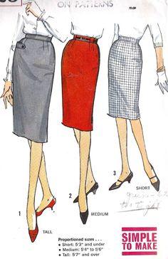 22 Best 1950 s 60 s Style Pencil Skirt images  e2f4123e1