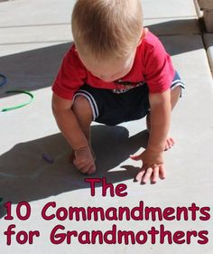 The 10 commandments for grandmothers - Grandma's Briefs - Grandma's Briefs - On life's second act