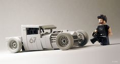 Car | Hotrod | Mike Burroughs' BMW-Powered 1928 Ford Model A in Lego | by Calin https://www.flickr.com/photos/55943031@N02/11489201514/