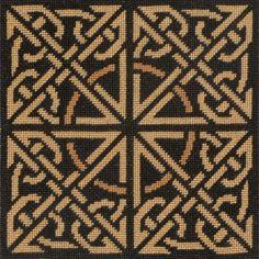 Celtic Knot Instant Download Cross Stitch by StitchesByKryss