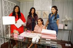 """""""The Real"""" is led by 4 bold, diverse and outspoken hosts - Adrienne Bailon, Loni Love, Jeannie Mai & Tamera Mowry-Housley"""