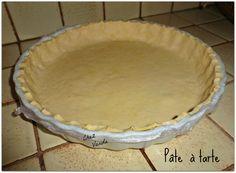Pâte à tarte  allégée 2PP / 8pers