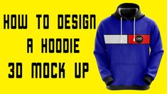 How to design a Hoodie 3D Mock Up Fashion Flats, Fashion Outfits, Apparel Design, Design Tutorials, Hoodies, Sweatshirts, Mockup, 3 D, Street Wear