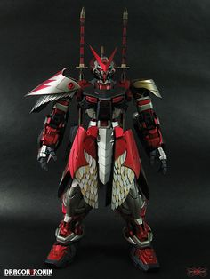 Gundam Astray red Frame Ver.MatX: DRAGON RONIN #actionfigure